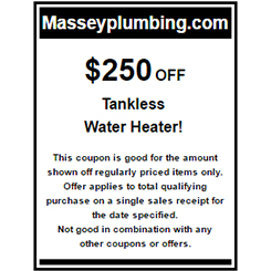 $250 Off Water Heater - Water Heater Installation in Gastonia, NC