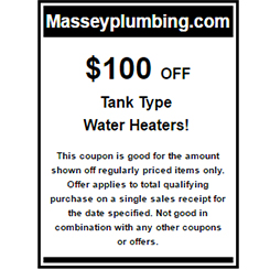 $100 Off Water Heater - Water Heater Installation in Gastonia, NC